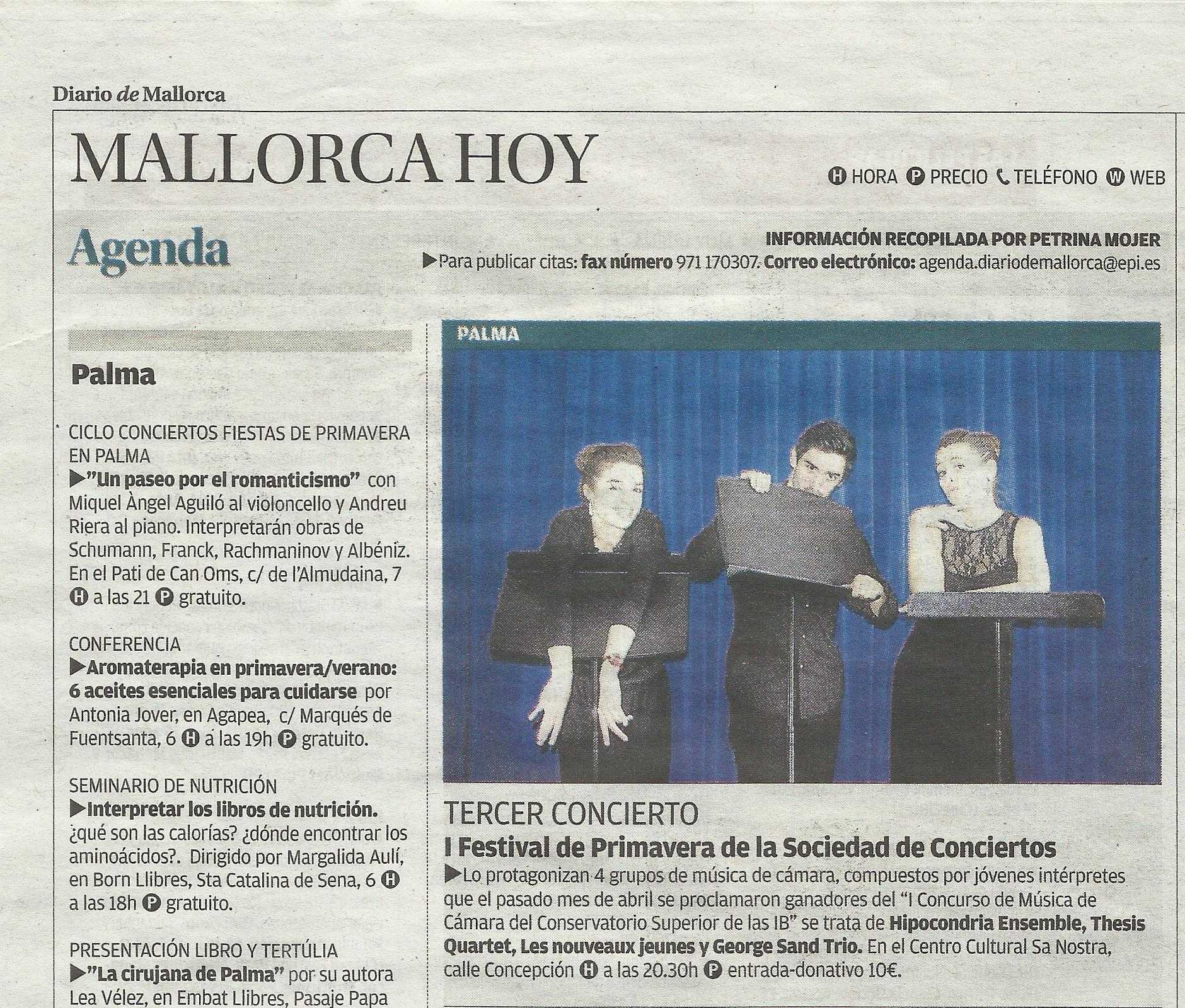 DiarioMallorca 11.05.14