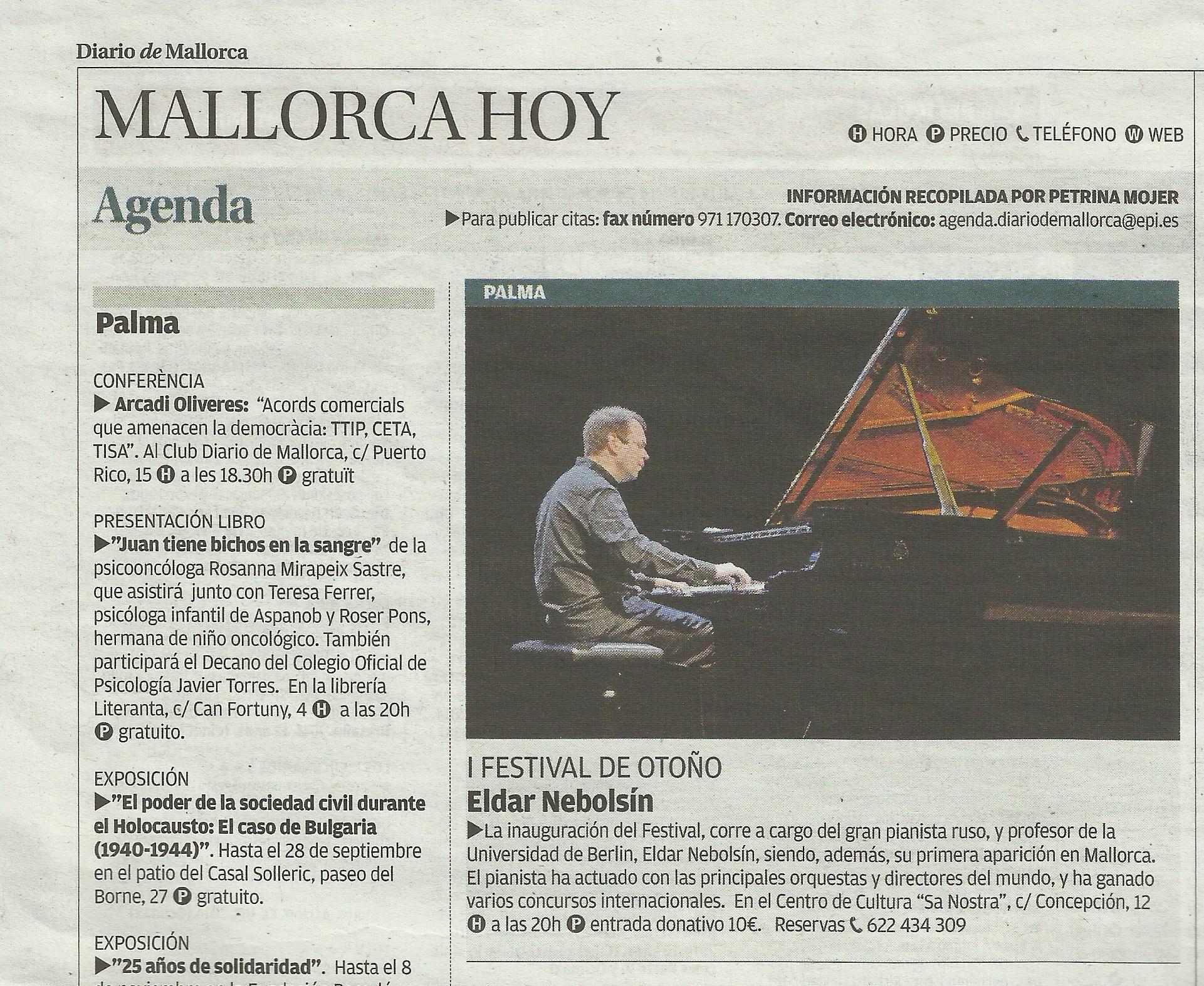 DiarioMallorca 24.09.14